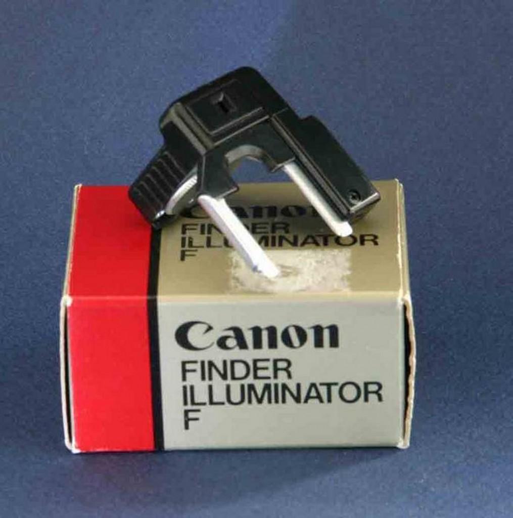 Finder illumiator