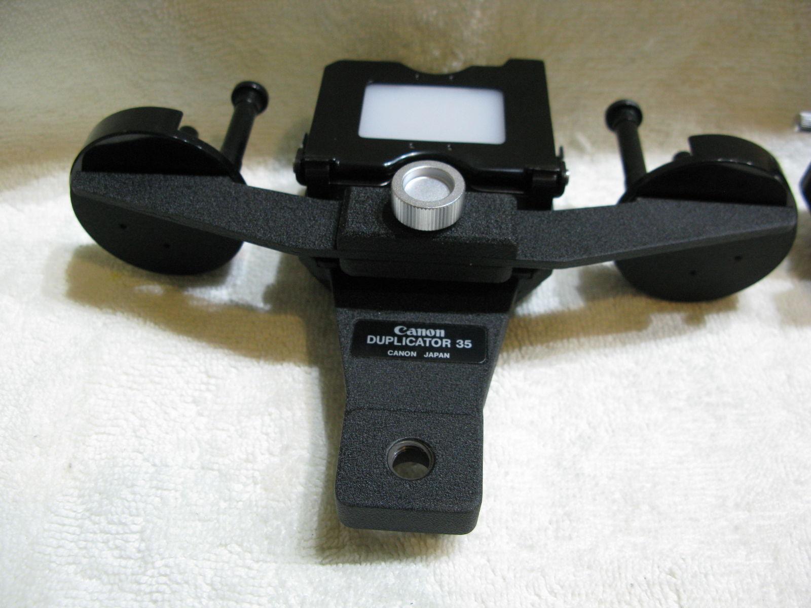 Slide duplicator – Fou du Canon F-1