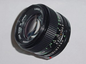 New FD 50mm1,4